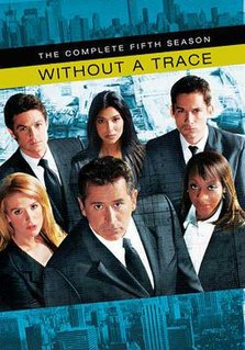 <i>Without a Trace</i> (season 5) Season of television series