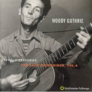 The Asch Recordings - Image: Woody Guthrie Asch Recordings Album Cover