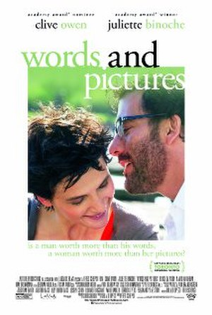 Words and Pictures (film) - Theatrical film poster