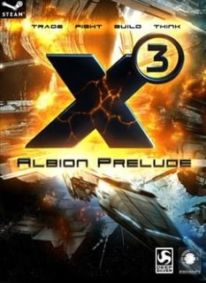 <i>X3: Albion Prelude</i> 2011 space trading and combat simulator