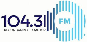 XHROJ-FM - Image: XHROJ Qfm 104.3 logo