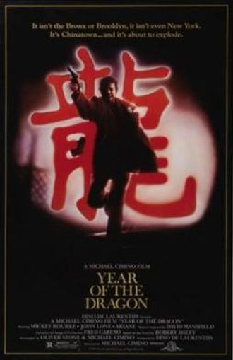 Year of the Dragon (film) - Theatrical poster