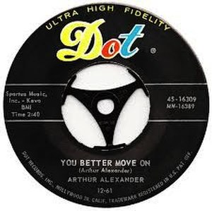 You Better Move On (song) - Image: You Better Move On label