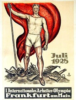 1925 Workers' Summer Olympiad poster.jpg