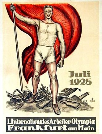 1925 Workers' Summer Olympiad - Image: 1925 Workers' Summer Olympiad poster