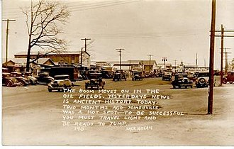 Joinerville, Texas - Joinerville, Texas, during the oil boom of the 1930s