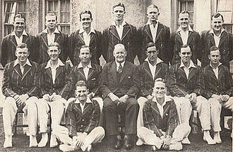South African cricket team in England in 1935 - The team
