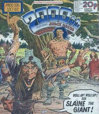 Mike McMahon (comics) - Sláine, 2000 AD prog 336 (1983).
