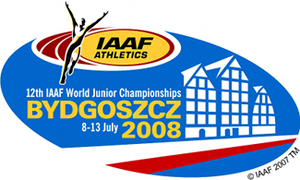2008 World Junior Championships in Athletics - Image: 2008 World Junior Championships in Athletics logo