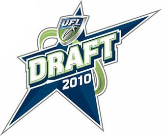 2010 UFL Draft - The 2010 UFL Draft logo