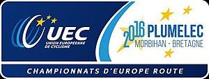 2016 European Road Championships - Image: 2016 European Road Championships logo