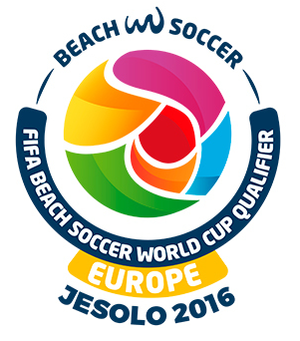 2017 FIFA Beach Soccer World Cup qualification (UEFA) - Image: 2017FIFABSWC Europe qualifier logo