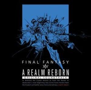 Music of Final Fantasy XIV - Image: A Realm Reborn album cover