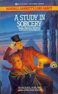 <i>A Study in Sorcery</i> novel by Michael Kurland