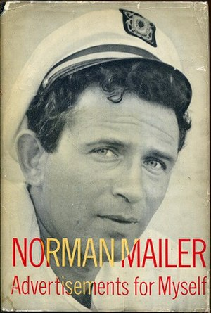 Advertisements for Myself - Cover of first edition