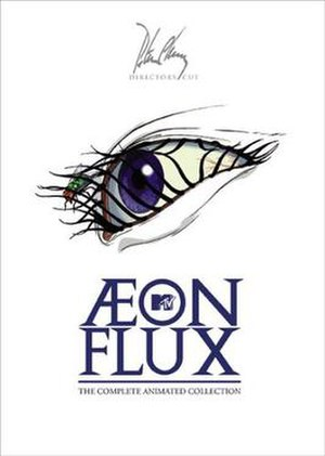 Æon Flux - Cover of the 2005 DVD box set
