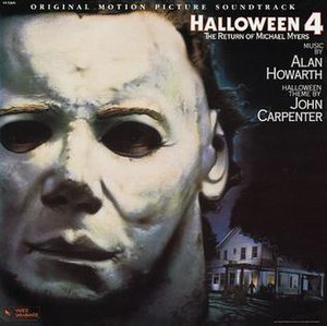 Halloween 4: The Return of Michael Myers (soundtrack) - Image: Alan Howarth Halloween 4 The Return of Michael Myers soundtrack 1988