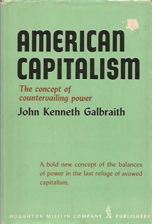 American Capitalism - First edition (publ. Houghton Mifflin)