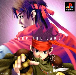 Arc the Lad II - Image: Arc the Lad 2 cover