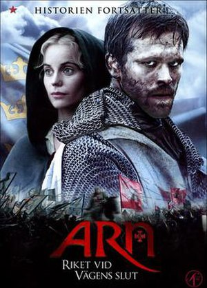 Arn – The Kingdom at Road's End - Theatrical poster.