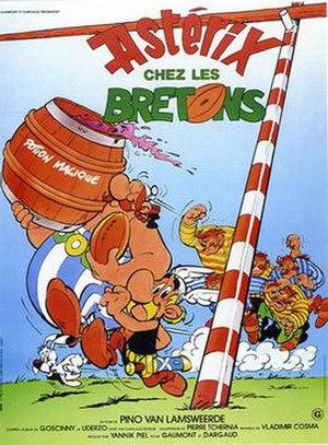 Asterix in Britain (film) - Image: Asterix in Britain (Astérix chez les Bretons) poster