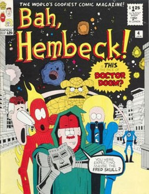 FantaCo Enterprises - The cover from Fred Hembeck's Bah, Hembeck (1980)