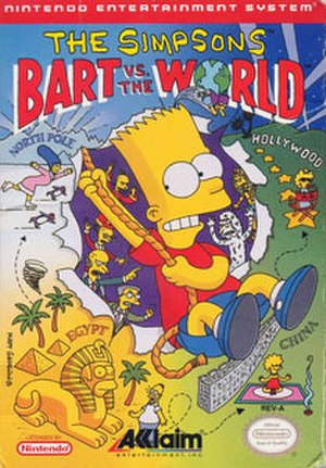 The Simpsons: Bart vs. the World - The Simpsons: Bart vs. the World