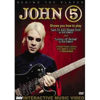 Behind the Player: John 5 - Image: Behind the Player John 5