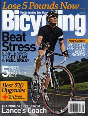 Bicycling (magazine) - May 2009 cover of Bicycling