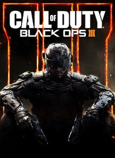 <i>Call of Duty: Black Ops III</i> 2015 first-person shooter video game
