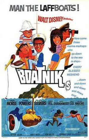 The Boatniks - Theatrical release poster