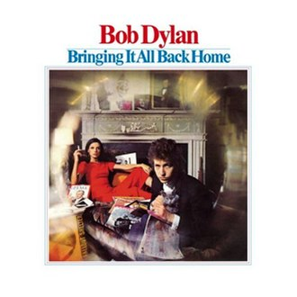 Bringing It All Back Home - Image: Bob Dylan Bringing It All Back Home
