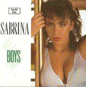 Boys (Summertime Love) - Image: Boys (Summertime Love) (cover)