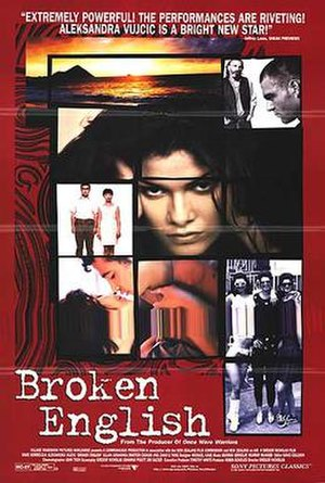 Broken English (1996 film) - Theatrical release poster