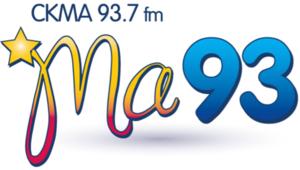 CKMA-FM - Image: CKMA Ma 93 logo