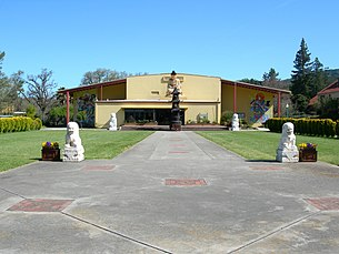 California's City of Ten Thousand Buddhas, one of the first Chinese Ch'an monasteries in America.