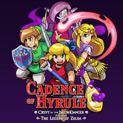 Picture of a game: Cadence Of Hyrule: Crypt Of The Necrodancer Featuring The Legend Of Zelda