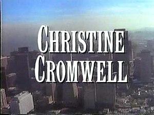 Christine Cromwell - Christine Cromwell title card