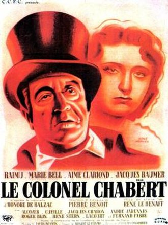Colonel Chabert (1943 film) - Theatrical release poster