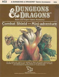 <i>Combat Shield and Mini-adventure</i> Tabletop role-playing game supplement for Dungeons & Dragons