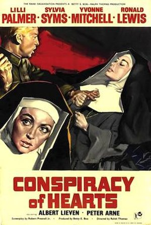 Conspiracy of Hearts - Original British cinema poster