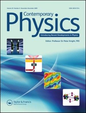Contemporary Physics