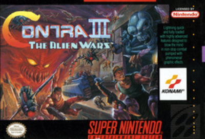 Picture of a game: Contra III: The Alien Wars
