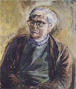 David Wright (poet) - Image: David.Wright.portrai t.by.Patrick.Swift.c 1960