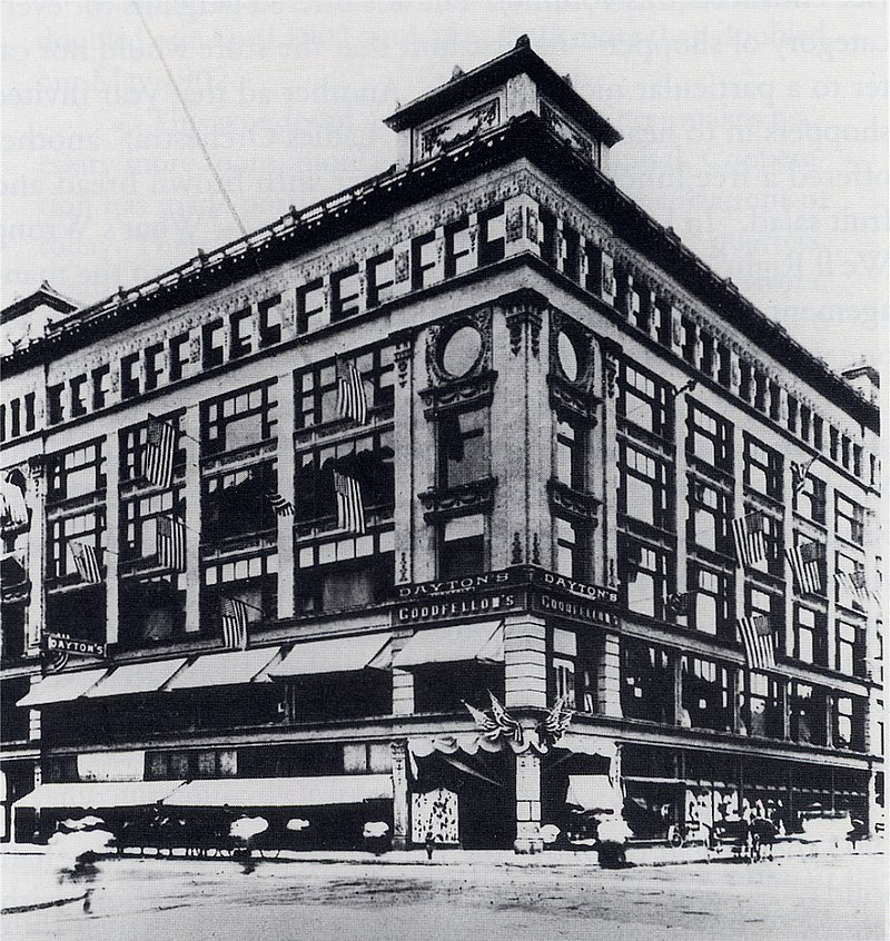 history of target department stores It also operates supertarget stores with a line of food and general merchandise  items  the company was founded by george draper dayton in 1902 and is.