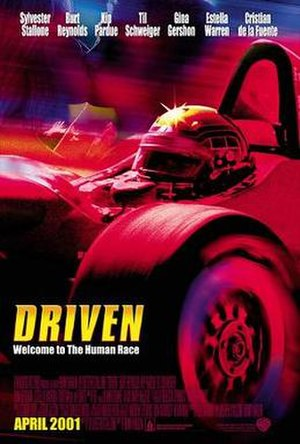 Driven (2001 film) - Theatrical release poster