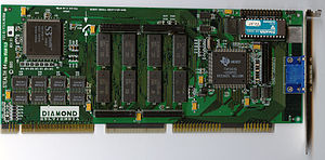 Diamond Multimedia - Diamond Stealth64 Video VRAM / Video 3240
