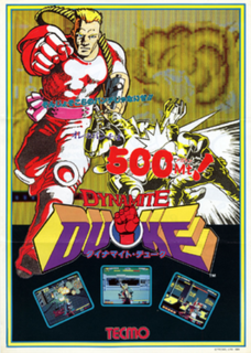 <i>Dynamite Duke</i> 1990 video game