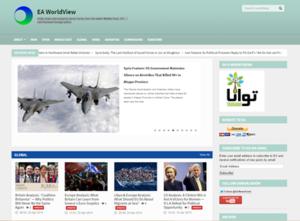 EA WorldView - Image: EA World View Screenshot