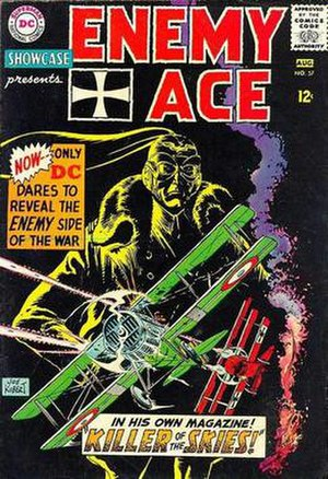 Enemy Ace - Image: Enemy Ace Showcase cover